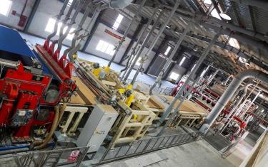 Quy trình sản xuất và ứng dụng của ván gỗ HDF hiện nay trong thiết kế nội thất